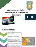 Conflicto entre India y Pakistán por el territorio