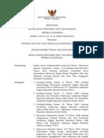 HK.03.1.23.12.10.11983 TAHUN 2010 Tentang Kriteria Dan Tata Cara Pengajuan Notifikasi Kosmetika