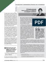 Renzo Cavani - El fraude procesal entre el amparo y la NCJF (Actualidad jurídica - abril 2013)