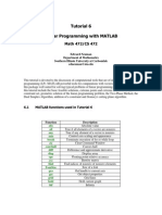 Tutorial 6 Linear Programming With Matlab