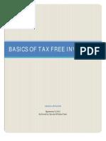 Tax Free Investing Basics
