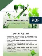 Proses-Proses Biologi Lanjutan