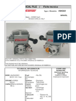 COMER KWE80  KART ENGINE 2 STROKES