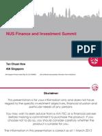 Nus Investment Talk Mar 2013