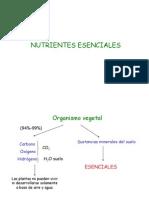 8-Nutrientes esenciales