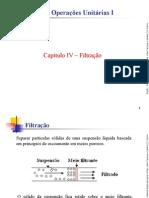 EQ651 – Operacoes Unitarias I - Capitulo_IV