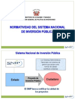 Normatividad SNIP.ppt