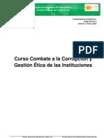 Curso Combate a la Corrupción - INAP - DIVIP - ONG CCRC