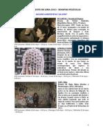 Festival de Cine Al Este de Lima - Programación