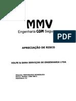 APRECIAÇÃO RISCO  PERFURATRIZ HIDRAULICA