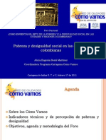 Cartagnea y Pobreza 2011