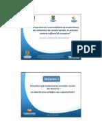 Modernizarea Serviciilor Sociale Din Romania