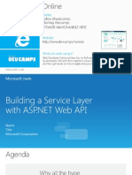 Adding WebApi To ASPNET Site