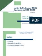 Virtualizacion de Redes Con Gns3 y Configuracion Del Ios Cisco