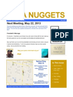NUPA Nuggets May 2013