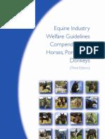 Horse welfare compendium