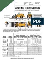Cargo Securing Instruction L180G