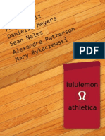 Lululemon Athletica Class Project