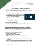 Anexo I.- Recomendaciones y Preguntas Frecuentes
