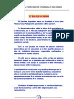 Monografia - Democracia, Participación Ciudadana y Bien Común