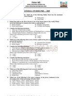 Ias Gs Pre 2005 Question Paper Vision Ias
