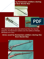 Weapons Use in the 1st World War