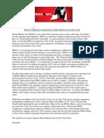 MMA Gym Letter 5-7-13