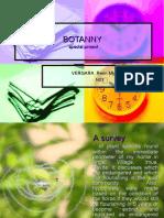 BOTANNY special project - plant survey