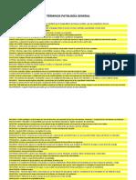 términos patología general