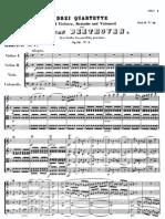 Beethoven, String Quartet No.7, Op. 59, En Fa