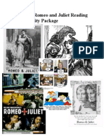 ENG 3C Romeo and Juliet Reading and Activity Package