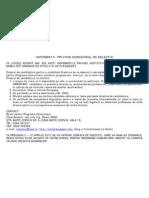 Informatii Privind Concursul de Selectie-12-Martie