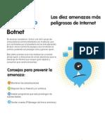 Las diez amenazas más peligrosas de Internet - 1 - Botnet