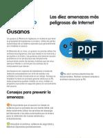 Las diez amenazas más peligrosas de Internet - 2 - Gusanos