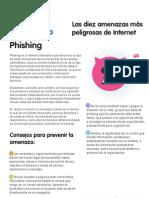 Las diez amenazas más peligrosas de Internet - 8 - Phishing