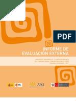 Turismo Rural Peru Evaluacion