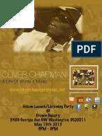 Oliver Chapman Album Listening Launch in DC