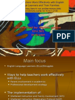 Helping Teachers Work Effectively With English Language Learners