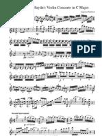 Haydn-Violin Concerto C maj. Cadenza-ViolinSheets.pdf