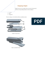 Designing a Stapler