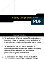 Facility Design and Layout