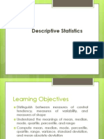 Discriptive Statistics
