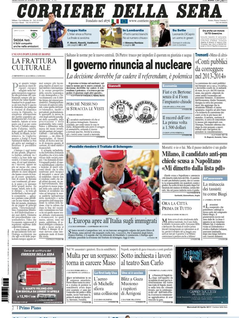 Corriere 20 04 2011 92e690258fc7