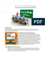 Blogging Overview