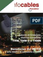 PROCABLES Resistencia y Reactancia en CA Instalacion Trifasica 600v