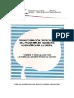 Transformacion Curricular Agro 2009 Rev09-Portada-Indice