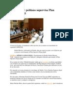 12-05-2013 Informador - Gobernador poblano supervisa Plan Popocatépetl