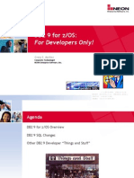 Db2 9 for Zos for Developers Only1207