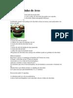 Cupcake Ninho de Aves
