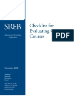 06T06 Checklist for Evaluating-Online-Courses